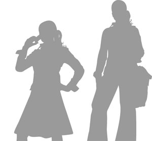 Teen Silhouettes