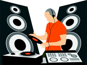 Music (DJ) Graphic Vector