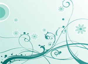 Free Swirls & Flowers Vector Graphics