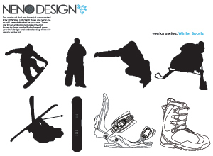 Sports Vectors (Winter Sports )