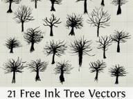 Ink_Tree_Vectors_by_fudgegraphics