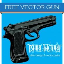 Free Gun Vector