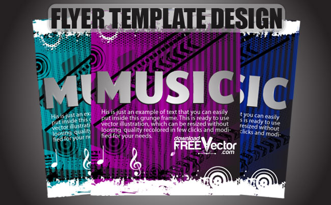 creative flyer templates free download free vector flyer template