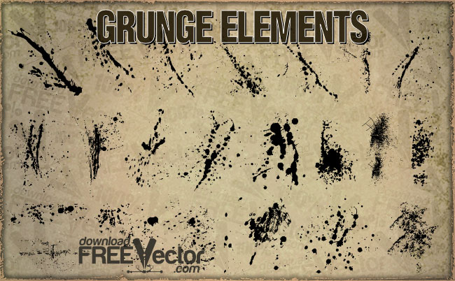 distressed vector free download