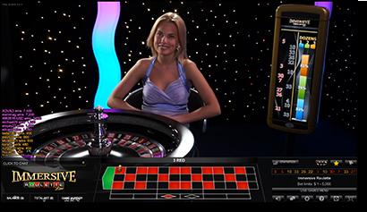 Roulette system live dealer