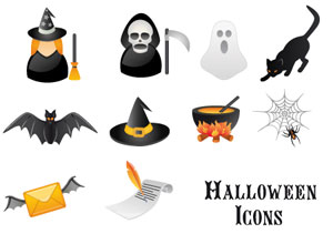 Cool Halloween Vector Graphics